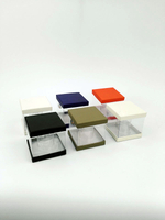 Custom clear pvc box/transparent plastic box for gift/Candle boxes/plastic box made in EECA China