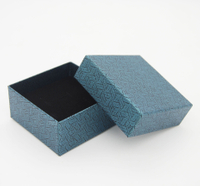 Customized waterproof recyclable jewelry box/square box with sponge/storage box wholesale in EECA China