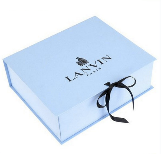 Custom luxury paper magnetic baby ribbon folding packaging gift boxes,foldable storage packing box